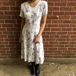 90's Vintage Boho Dress
